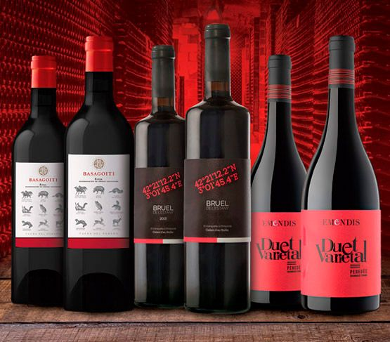 Selección de Vinos de Enero 18 Sin Regalo VINOTECA EN CASA