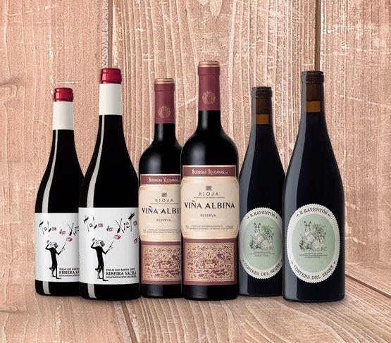 Selección de Vinos de Febrero 18 Sin Regalo VINOTECA EN CASA