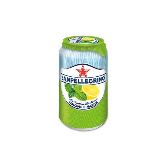 SAN PELLEGRINO Limone e Menta 33cl Lata