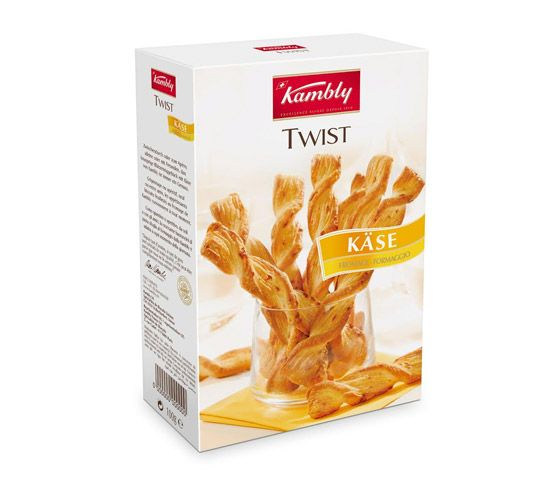 KAMBLY Twist con queso 100g