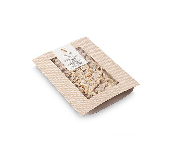 MITJANS  Mosaico de Pavo Premium con Verduras Loncheado Artesanalamente 100g