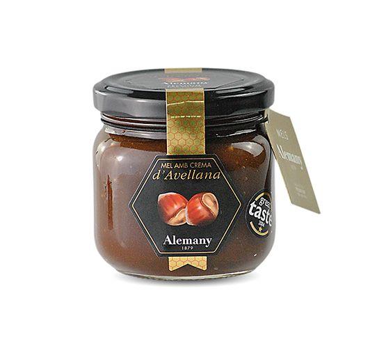 ALEMANY Miel con Crema de Avellana 250g