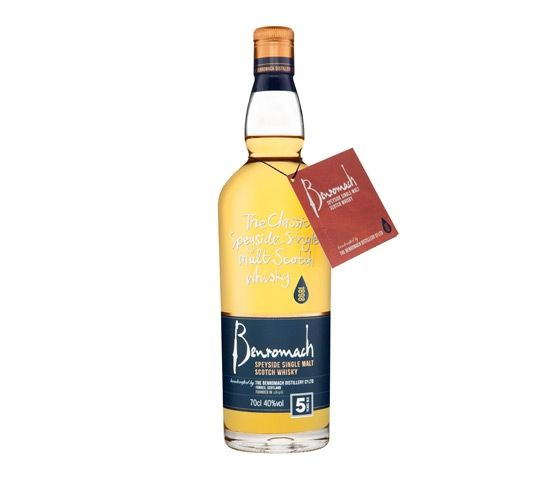 BENROMACH 5 Years Old Whisky 70cl