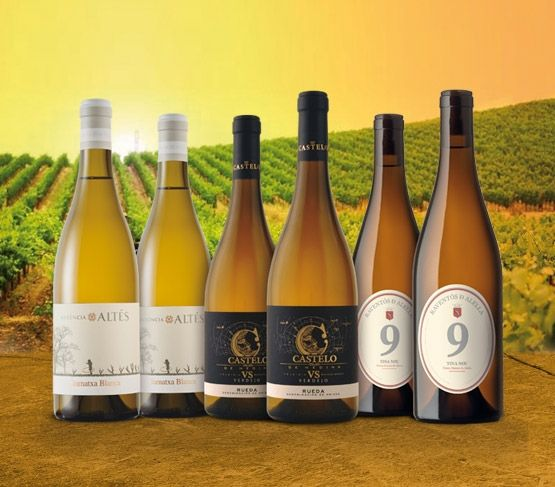 Selección Vinos Blancos con Clase 2018