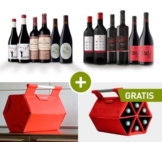 ESPECIAL Pack Vinos + ZEbag REGALO