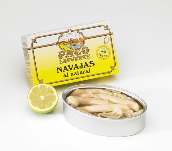 PACO LAFUENTE Navajas al natural 5/6 115g