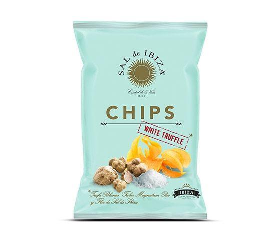 SAL DE IBIZA Patatas Chips Trufa Blanca 125g