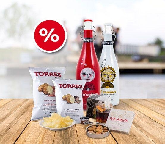 PRECIO ESPECIAL Pack Sangría Carmines