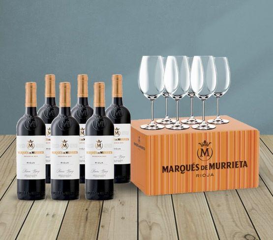 Especial Día del Padre Premium: Marqués de Murrieta + Copas