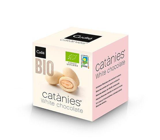 CUDIÉ Catànies BIO White Chocolate 80g