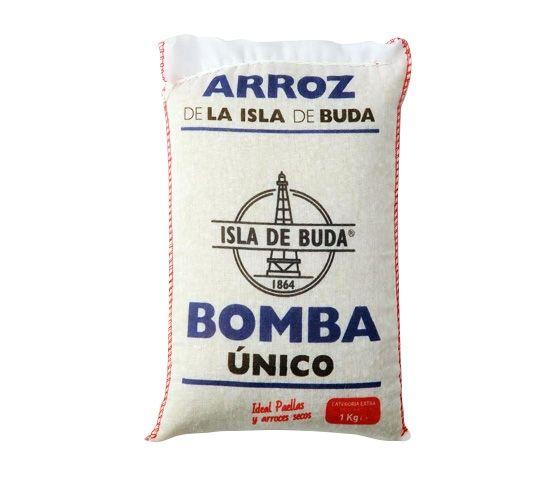 ISLA DE BUDA Arroz Extra Bomba Único Saco 1kg
