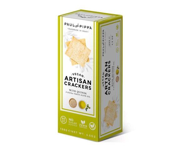 PAUL & PIPPA Artisan Cracker Salt Quinoa 130g