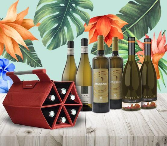 ZEbag y Vinos Blancos de Garnacha Blanca