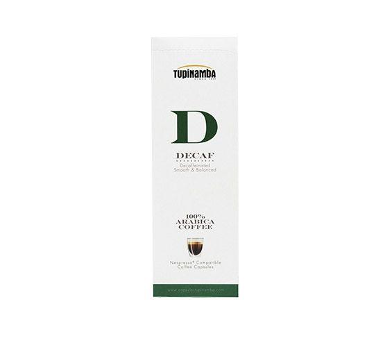 TUPINAMBA Decaf 10 Cápsulas Compatibles con Nespresso®