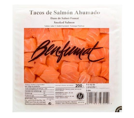 BENFUMAT Tacos de Salmón Ahumado 200g
