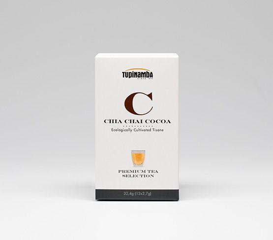 TUPINAMBA Chia Chai Cocoa Ecológico 12uds