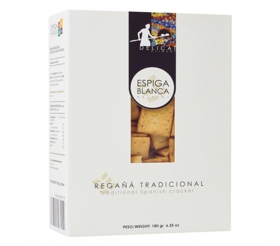 ESPIGA BLANCA Estuche regaña tradicional 180g
