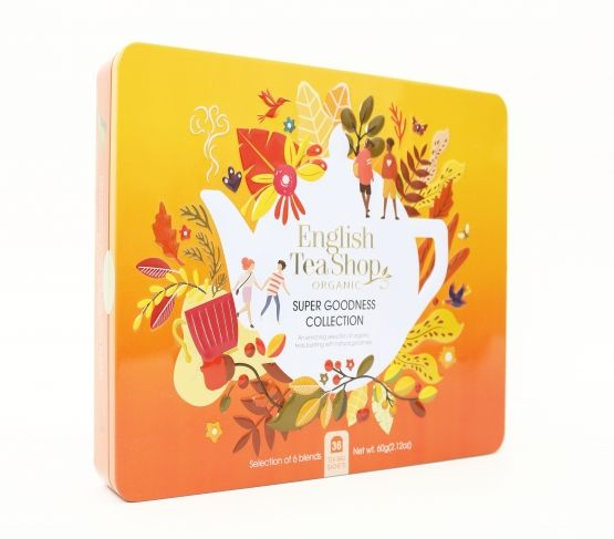 ENGLISH TEASHOP Caja Goodness Te 36 bolsitas