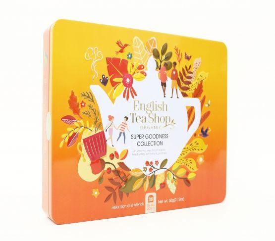 ENGLISH TEASHOP Caja Goodness Té 36 bolsitas