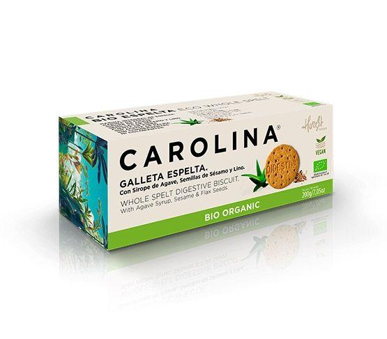 CAROLINA HONEST Galleta Bio Digestive Espelta Integral 200g