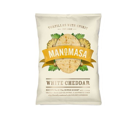 MANOMASA Tortilla Chips Cheddar 160g