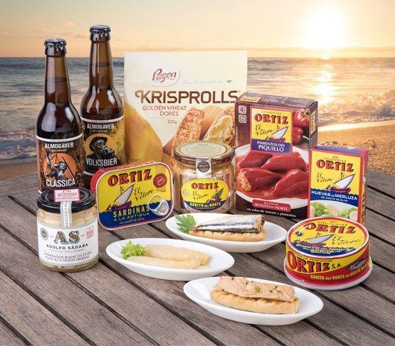 Selección Conservas Ortiz - Tu aperitivo gourmet