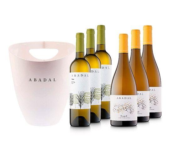 Pack Especial ABADAL: Blanco (3u) +  Picapoll (3u)  + Cubitera Individual