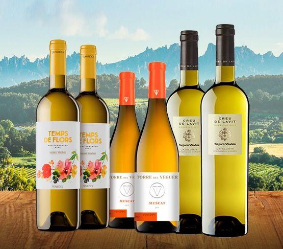 Selección Vinos Blancos del Penedès - Cataluña