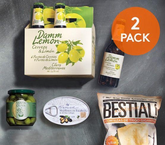 Pack Aperitivo + Damm Lemon Doble 20
