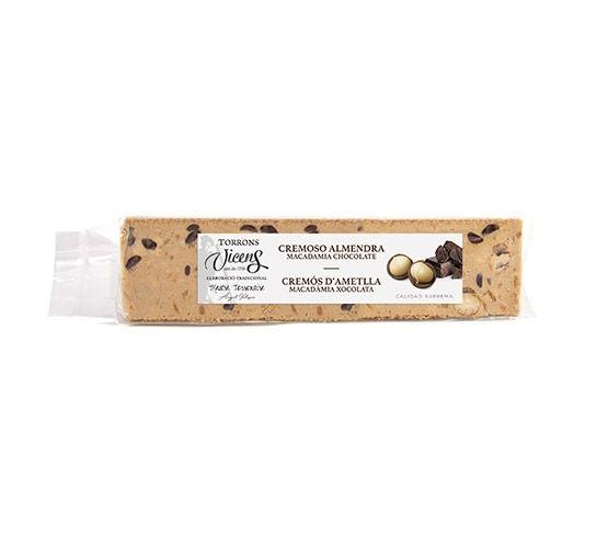 TORRONS VICENS Cremoso de Almendra con Macadamia Caramelizada con Chocolate Especial 300g