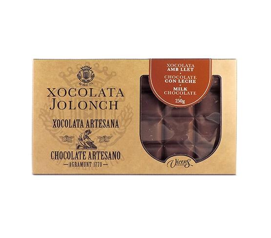 XOCOLATA JOLONCH Estuche Chocolate con Leche 250g
