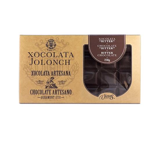 XOCOLATA JOLONCH Estuche Chocolate Bitter 250g