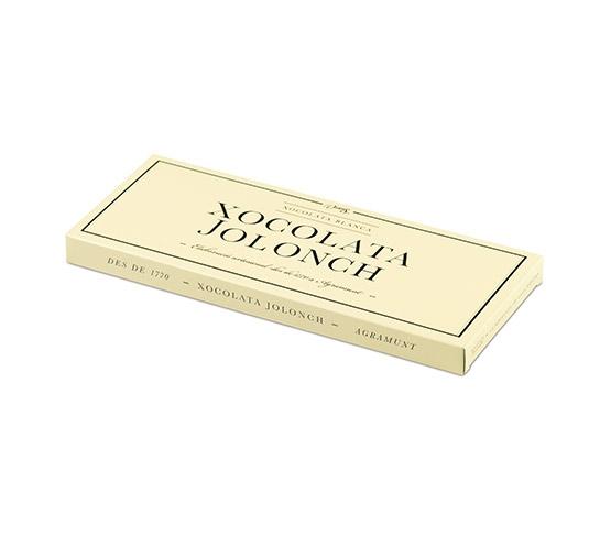 XOCOLATA JOLONCH Chocolate Blanco Estuche 100g