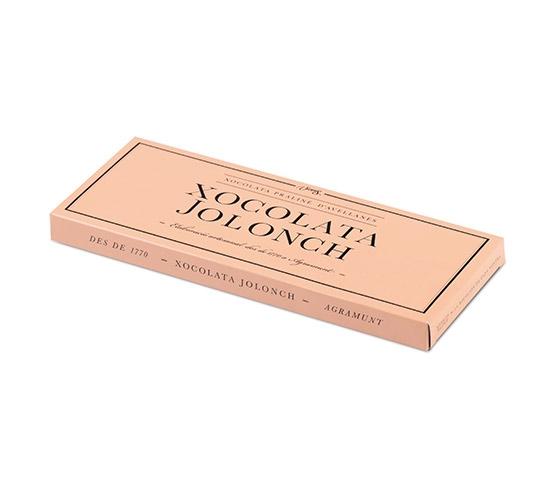 XOCOLATA JOLONCH Chocolate Praliné de Avellanas Estuche 100g