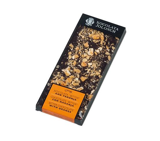 XOCOLATA JOLONCH Chocolate Bitter y Naranja 100g