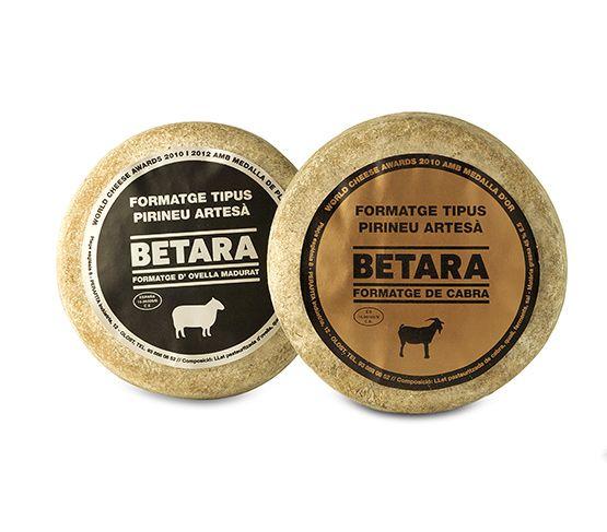 Queso de cabra cremoso 300g y queso de oveja madurado 300g