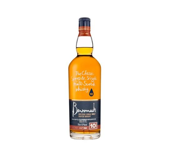 BENROMACH 10 Years Old Whisky 70cl