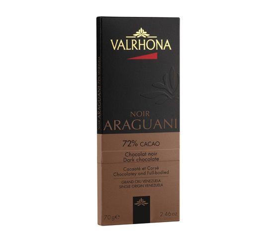 VALRHONA Tablette Araguani 72% 70g