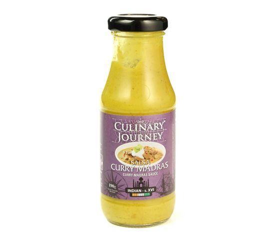 CULINARY JOURNEY Salsa Curry Madras