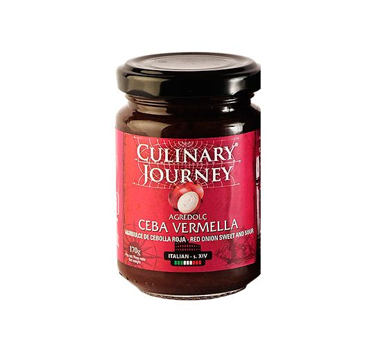 CULINARY JOURNEY Salsa Cebolla Roja Agridulce  170g
