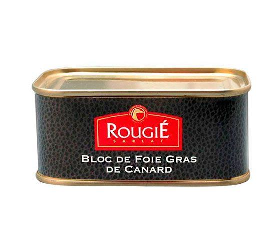 ROUGIÉ Pack: 2 Blocs de Foie Gras de Pato 200g + 1 Lira