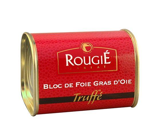 ROUGIÉ Bloc de Foie Gras de Oca Trufado 145g
