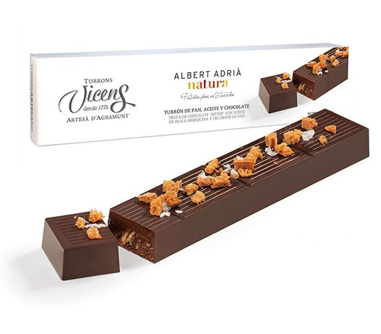 TORRONS VICENS Pan Aceite y Chocolate Albert Adrià Natura 250G