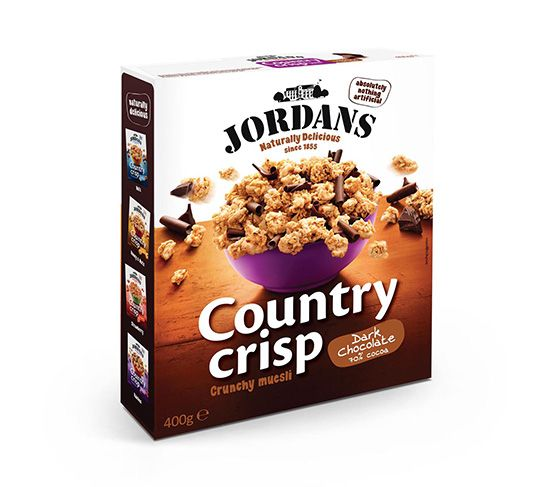 JORDANS Country Crisp Chocolate 400g
