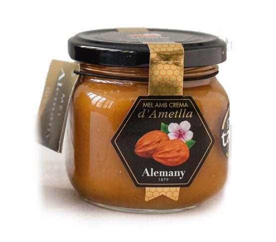 ALEMANY Miel con Crema de Almendra 250g