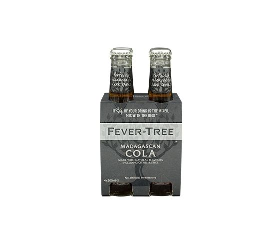 Pack 4 x 200ml FEVER-TREE  Madagascan Cola