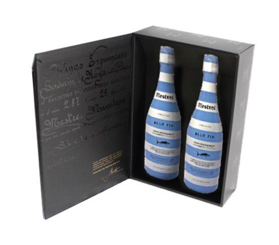 MESTRES Blue Fin 2 uds en caja de madera