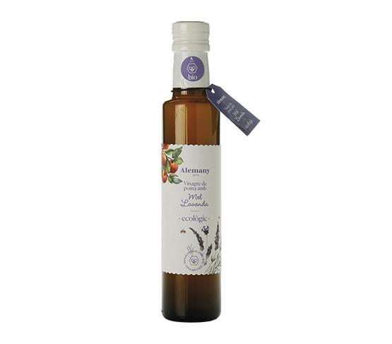 ALEMANY Vinagre de Manzana Ecológico con Miel de Lavanda 250ml