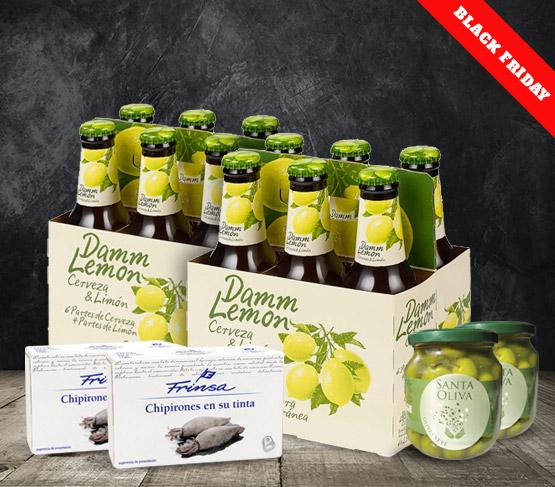 BLACK FRIDAY Pack doble Damm Lemon