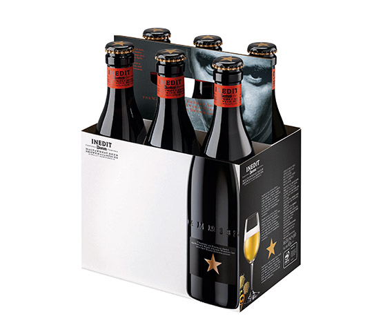 INEDIT Cesta de 6 botellas 33cl